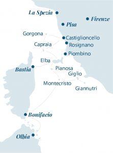 Mappa dei porti
